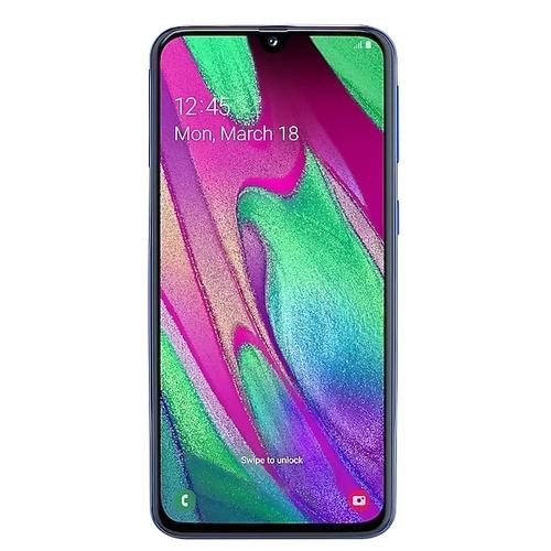 Телефон Samsung A405F/DS Galaxy A40 64Gb Blue фото